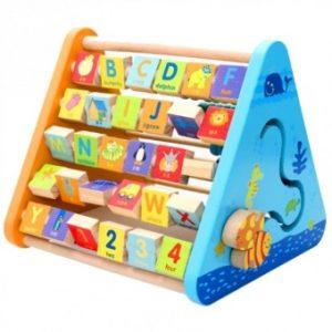 five side learning shelf