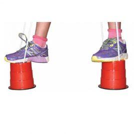 2 Pairs Of Stilts Bucket