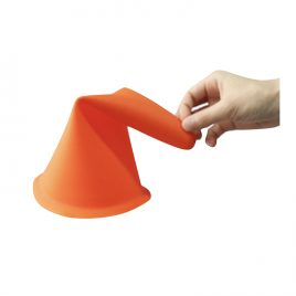Training Rubber Cone 170mm – 6 Pcs Set