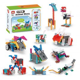 STEM Education-12in1 Electric Animal Building Blocks Set