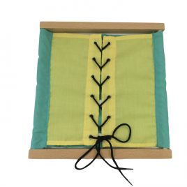 Dressing Frame Double Sided – Green & Yellow