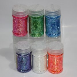 Glitter Powder 60gm 6 pcs set