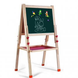 Wooden Easel with Stationery – Large