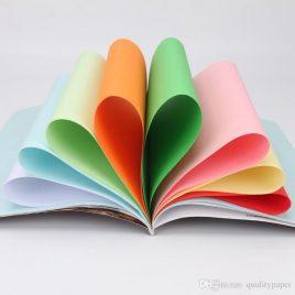 Color Printing Paper 100 pcs Set