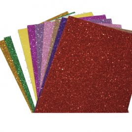 Glitter Paper Set for Art and Craft
