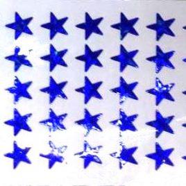 Blue Star Award Stickers